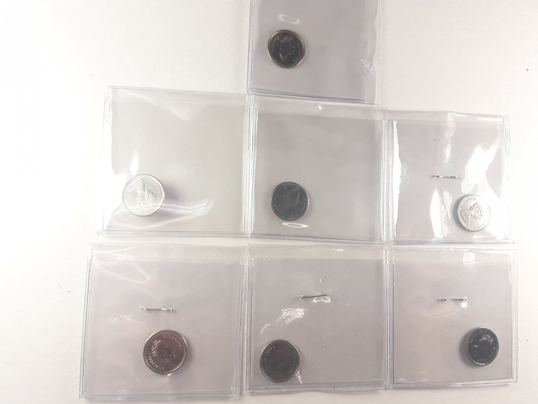 Canadian 1 Cent Coin Collection - 9