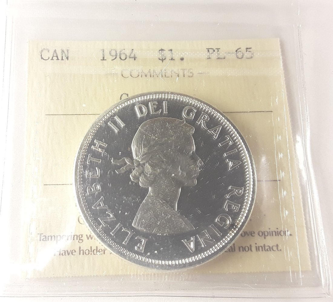 Canadian 1964 Prooflike Set - 9