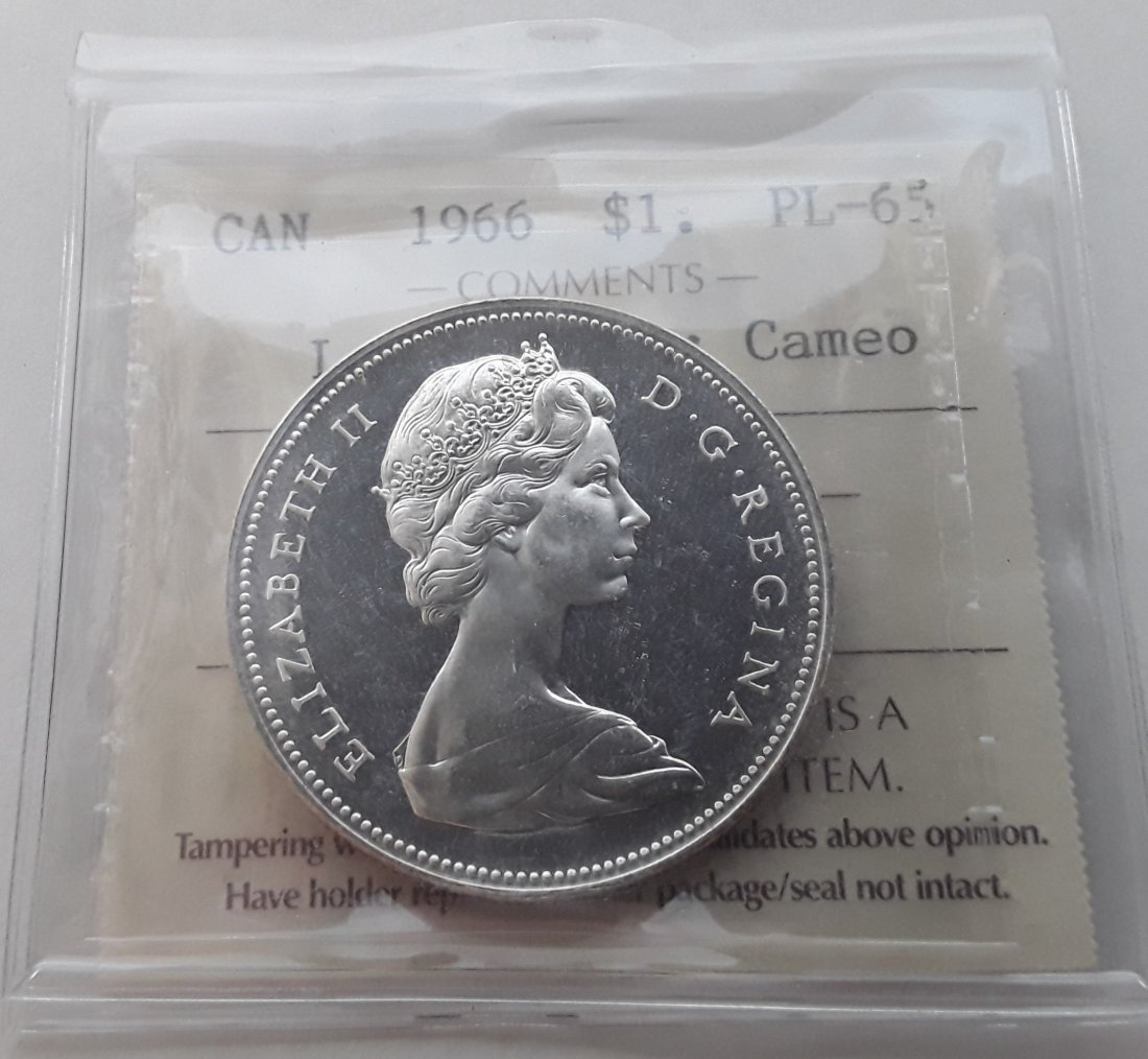 Canadian Prooflike Dollar Collection - 4