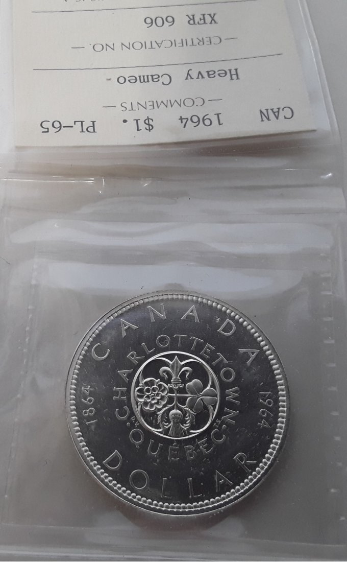Canadian Prooflike Dollar Collection - 7