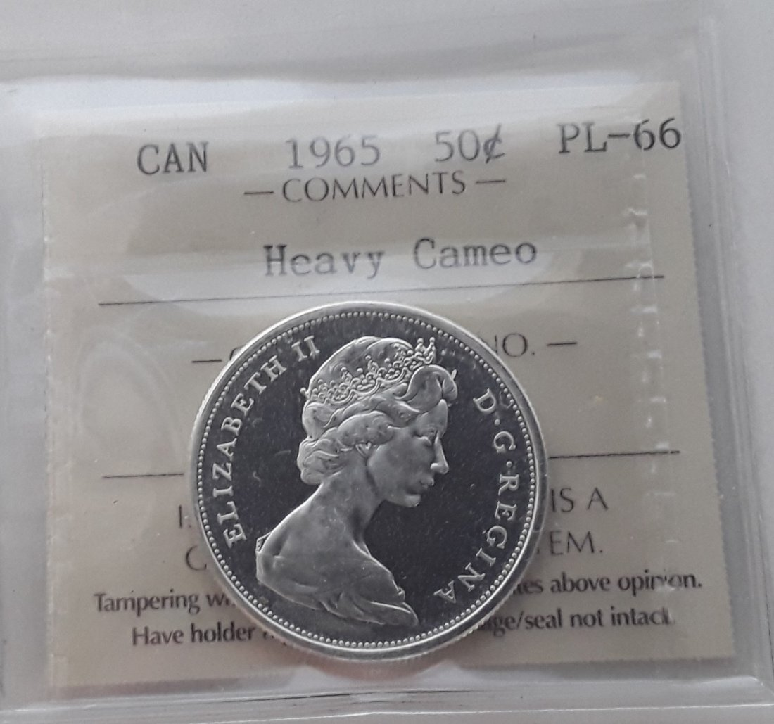 Canadian Prooflike 50 Cent Collection - 6
