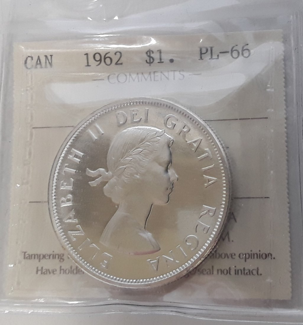 Canadian  1962 Prooflike Coin Collection - 3