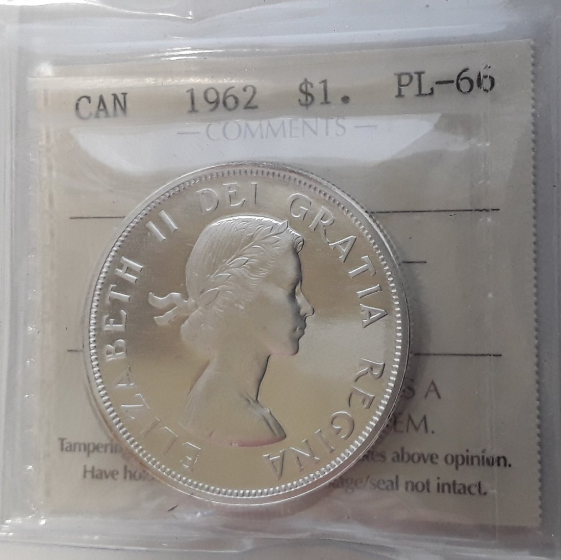 Canadian  1962 Prooflike Coin Collection - 4