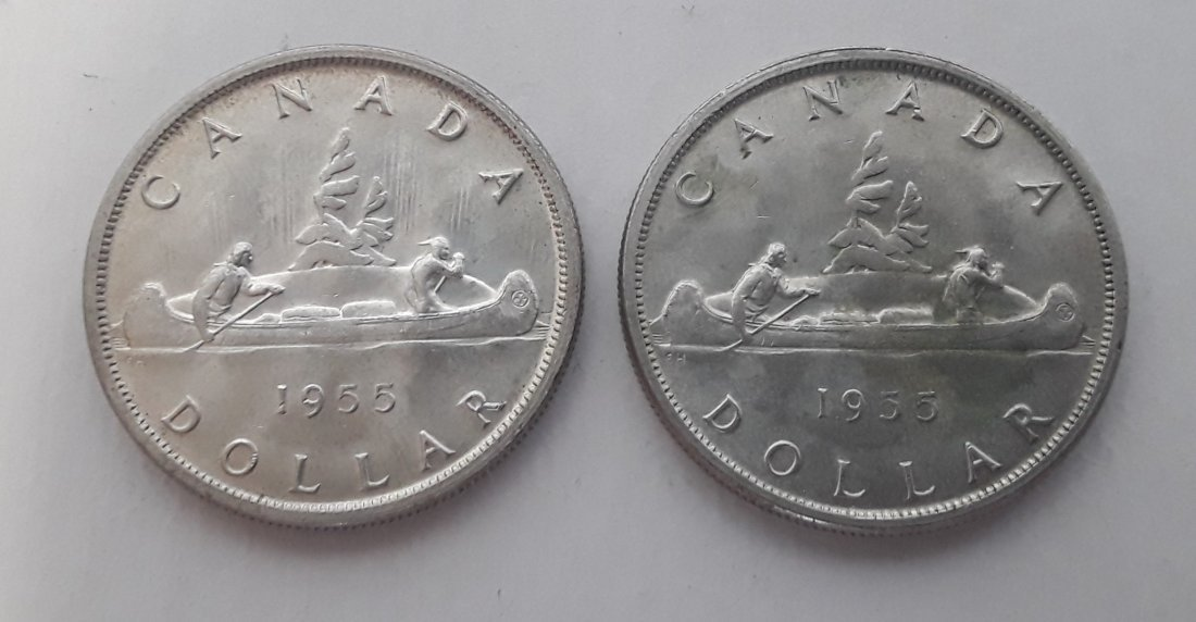 Canadian Silver Dollar Collection - 2