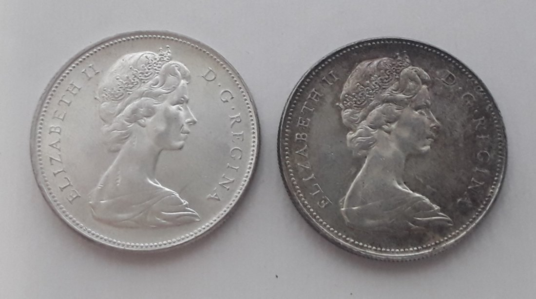 Canadian Silver Dollar Collection - 5