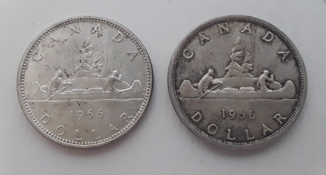 Canadian Silver Dollar Collection - 8