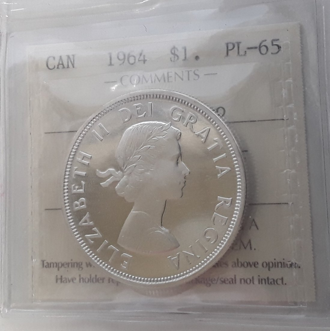 Canadian 1964 Prooflike Set - 7
