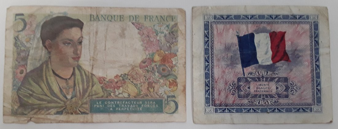 France Coin and Banknote Collection - 2