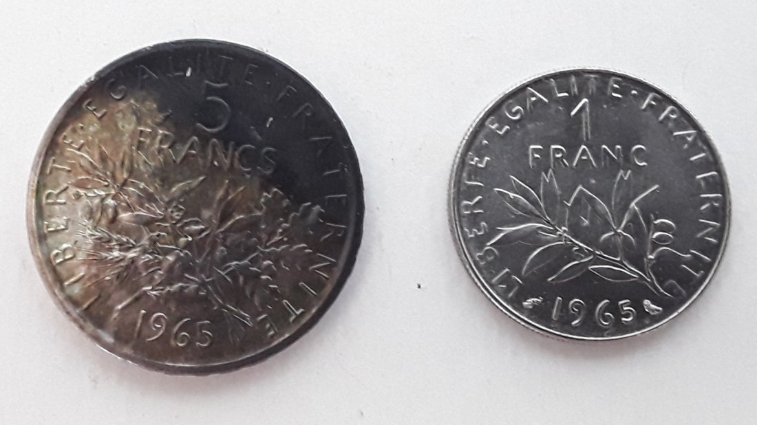 France Coin and Banknote Collection - 6