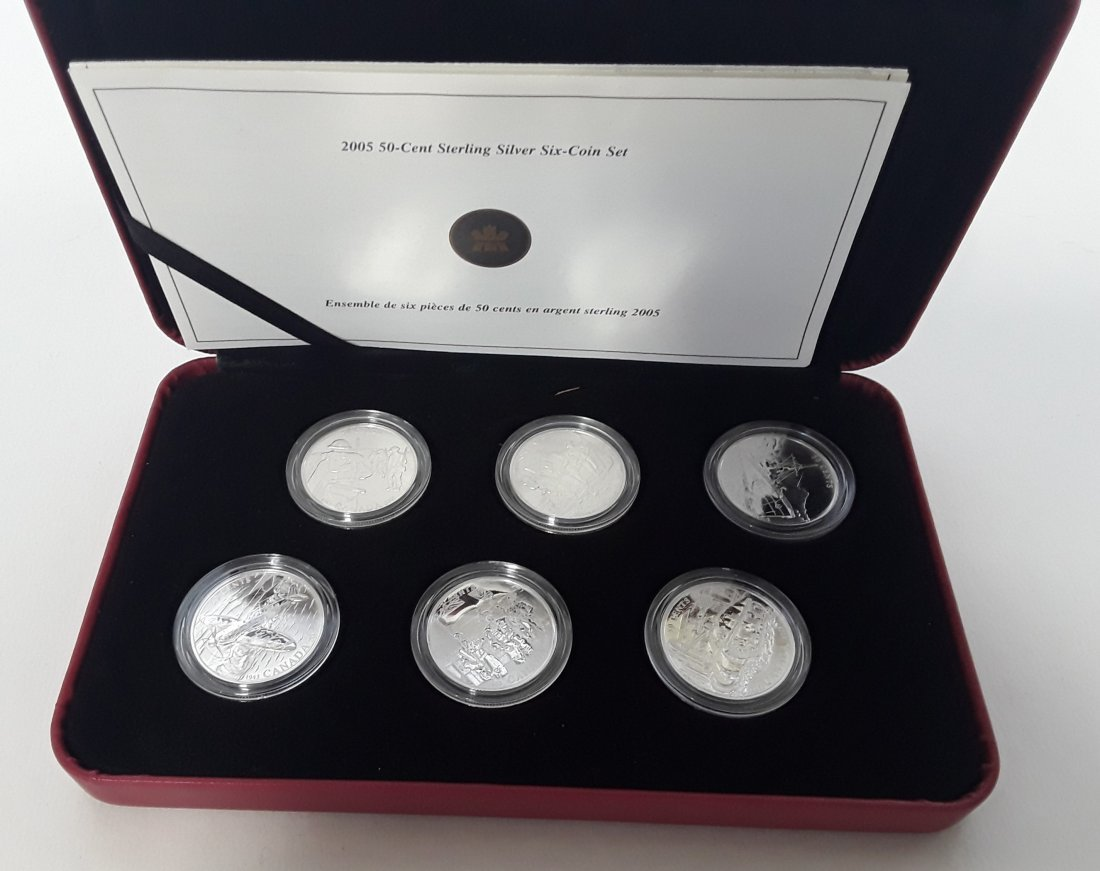 Canadian 2005 Proof Coins - 3