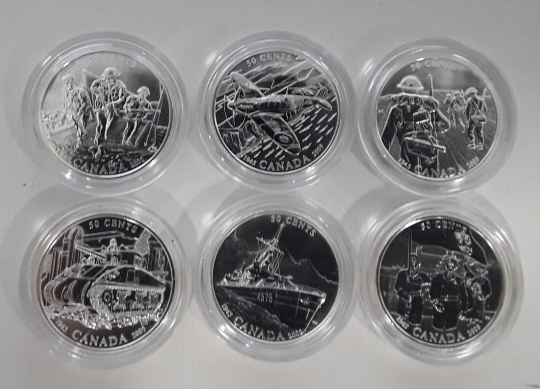 Canadian 2005 Proof Coins - 4