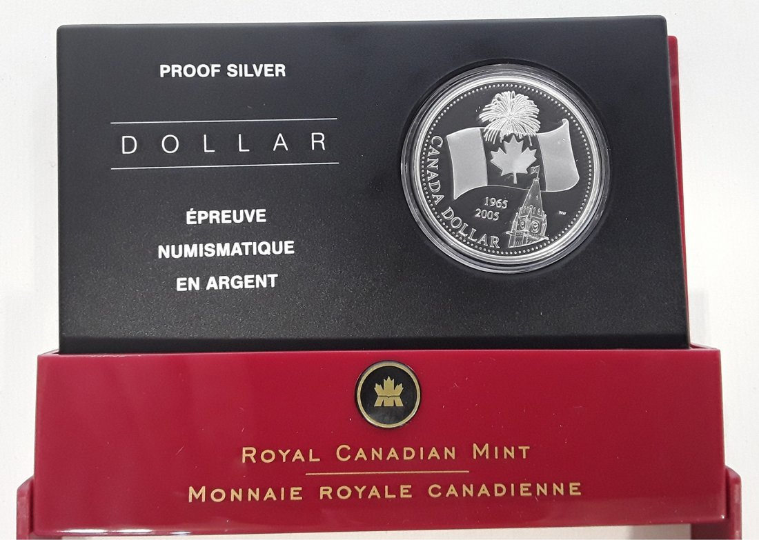 Canadian 2005 Proof Coins - 6