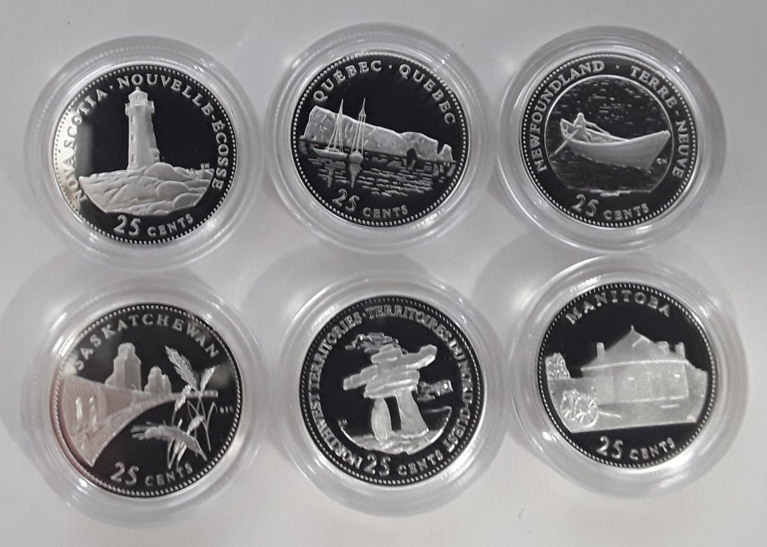 Canadian 1992 Provincial 25 Cent Collection (quarter) - 4