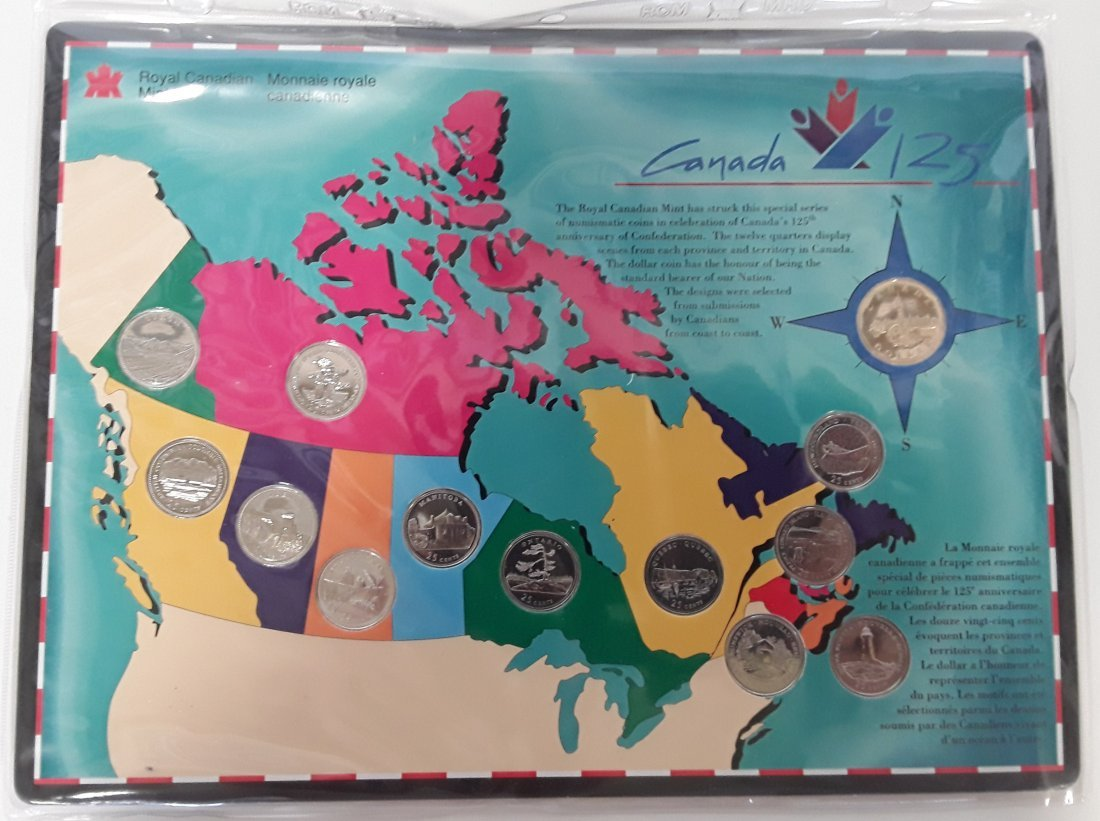 Canadian 1992 Provincial 25 Cent Collection (quarter) - 9