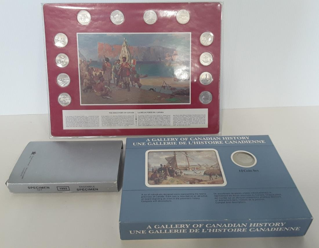 Canadian Gallery of Canadian History Coin Art