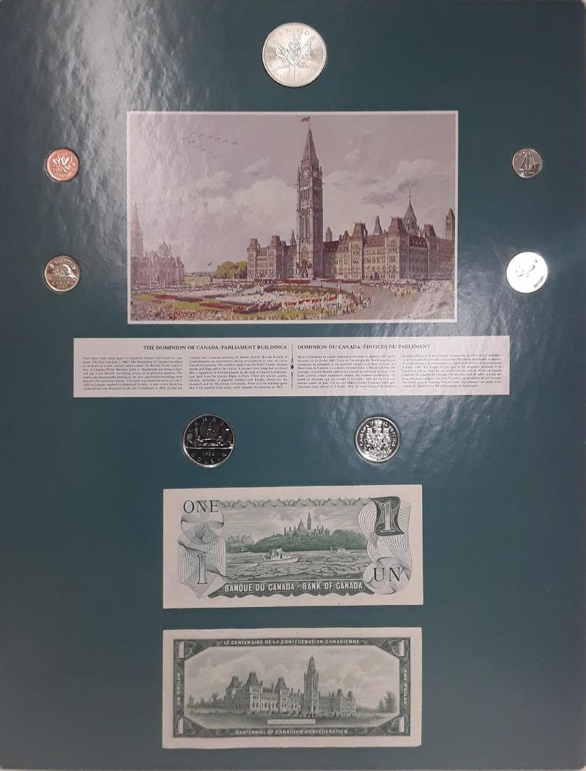 Coin Art - The Dominion of Canada/Parliament Buildings