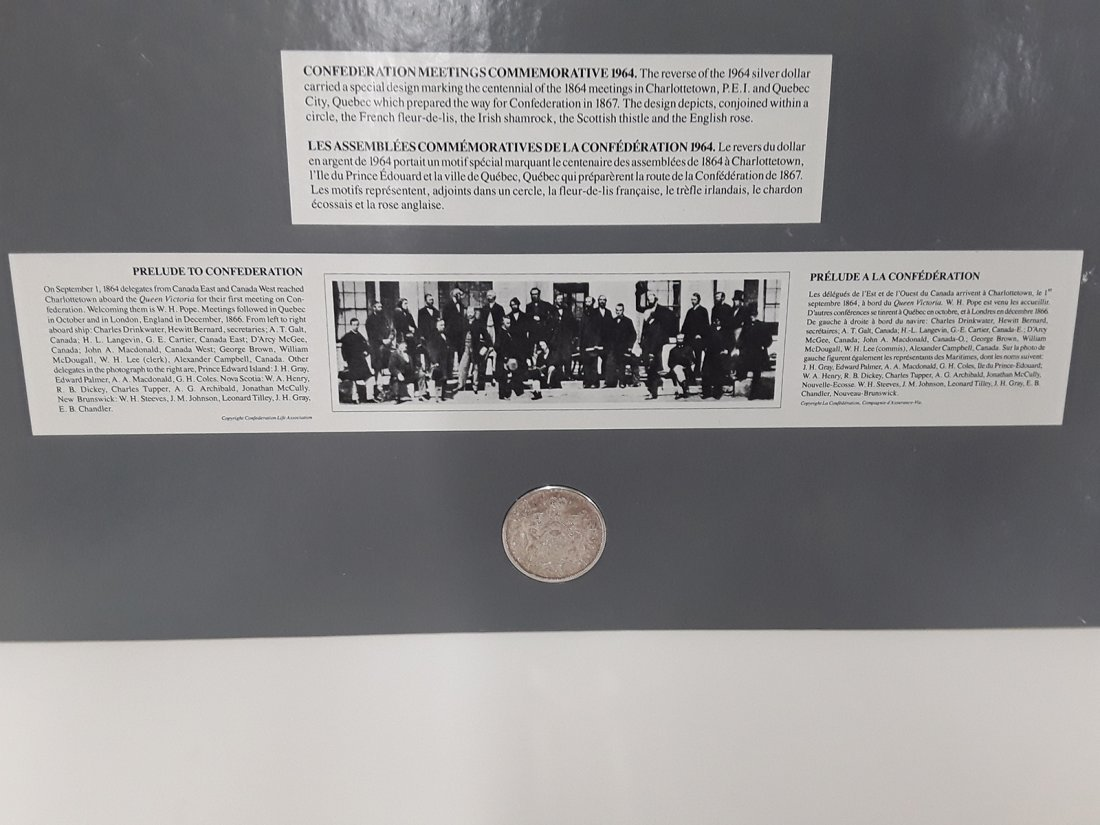 Coin Art - The Prelude To Confederation - 2