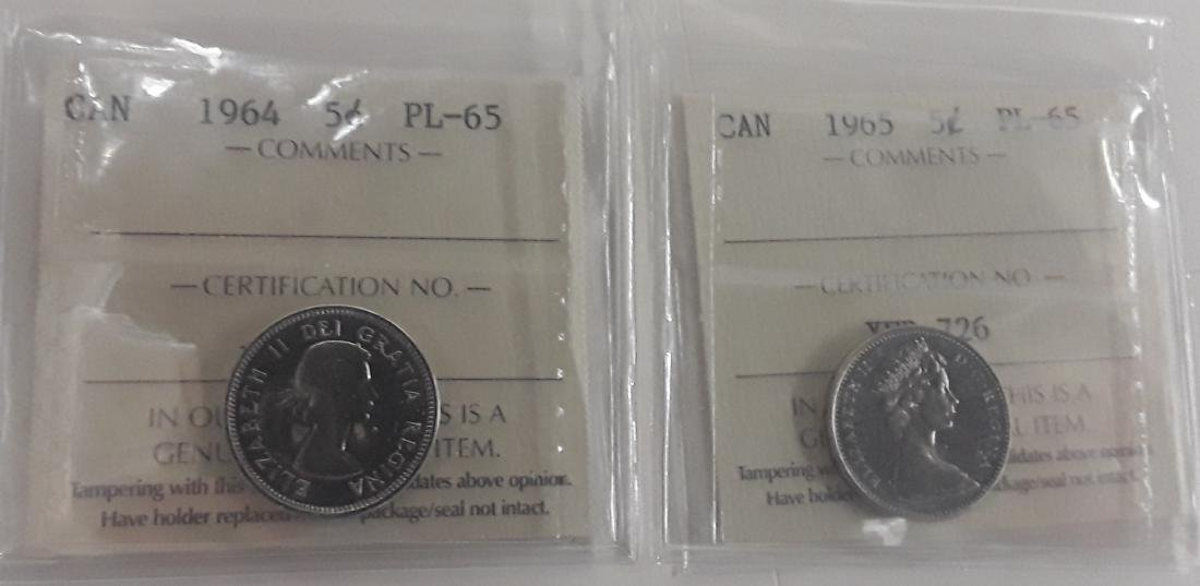 Canadian 1 Cent and 5 Cent Coin Collection - 3