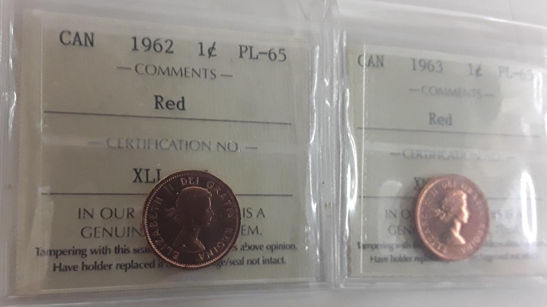 Canadian 1 Cent and 5 Cent Coin Collection - 6
