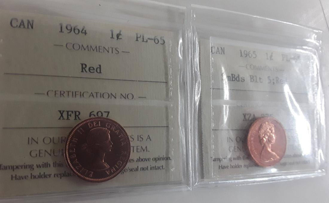 Canadian 1 Cent and 5 Cent Coin Collection - 7