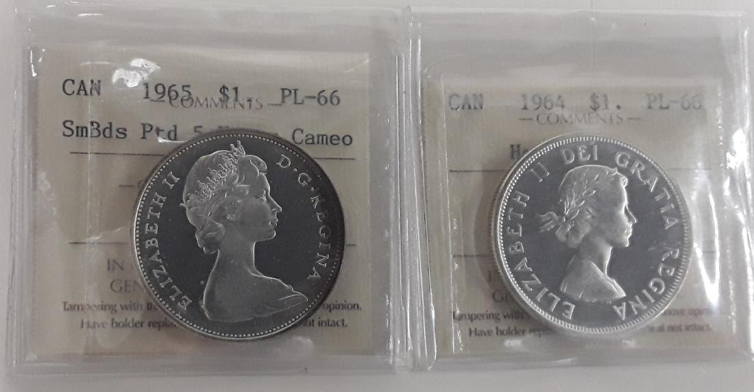 Canadian Prooflike Coin Collection