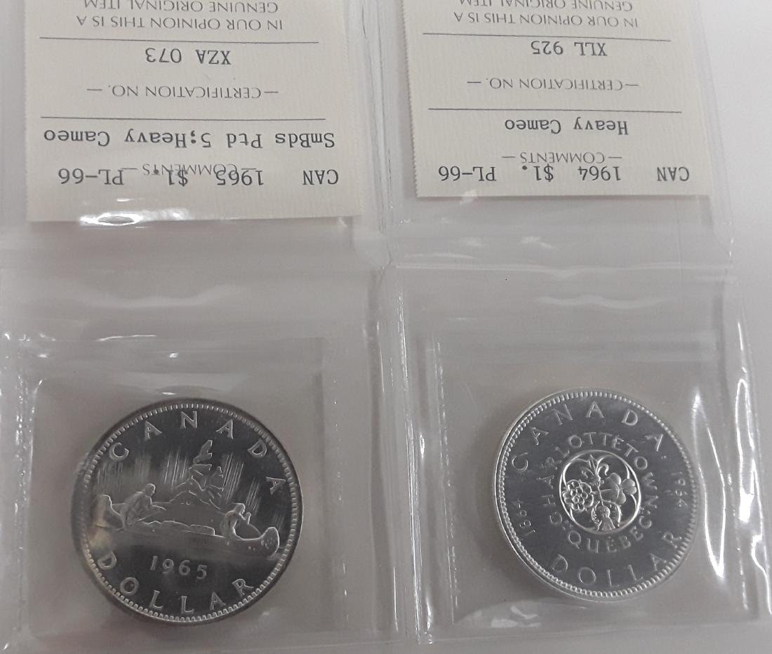 Canadian Prooflike Coin Collection - 2