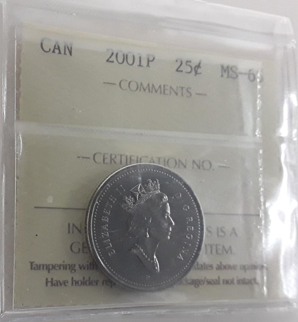 Canadian 25 Cent Coin Collection (quarter) - 2