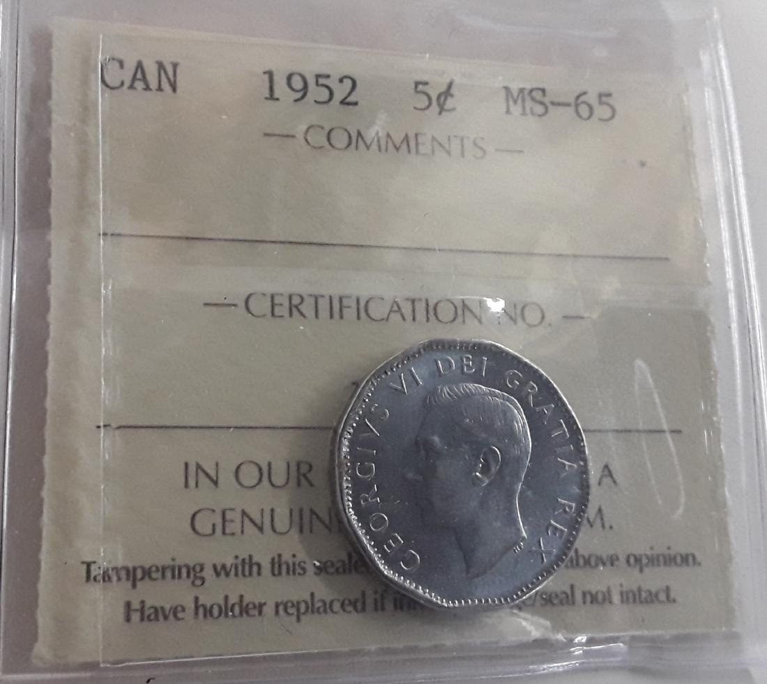Canadian 'Gem' Choice Certified Coins - 4