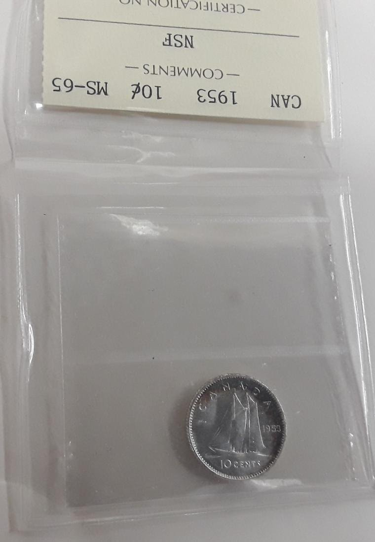 Canadian 'Gem' Choice Certified Coins - 7