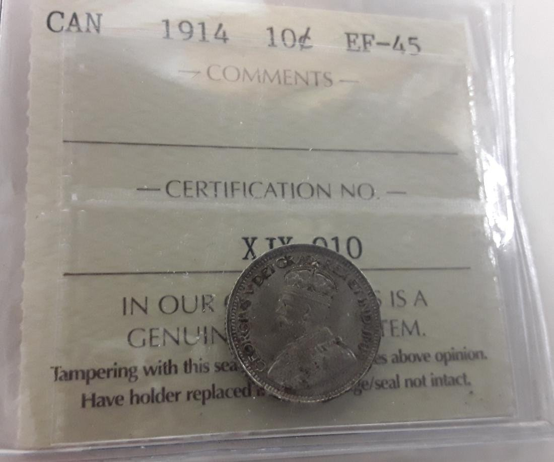 Canadian George V Era Coins