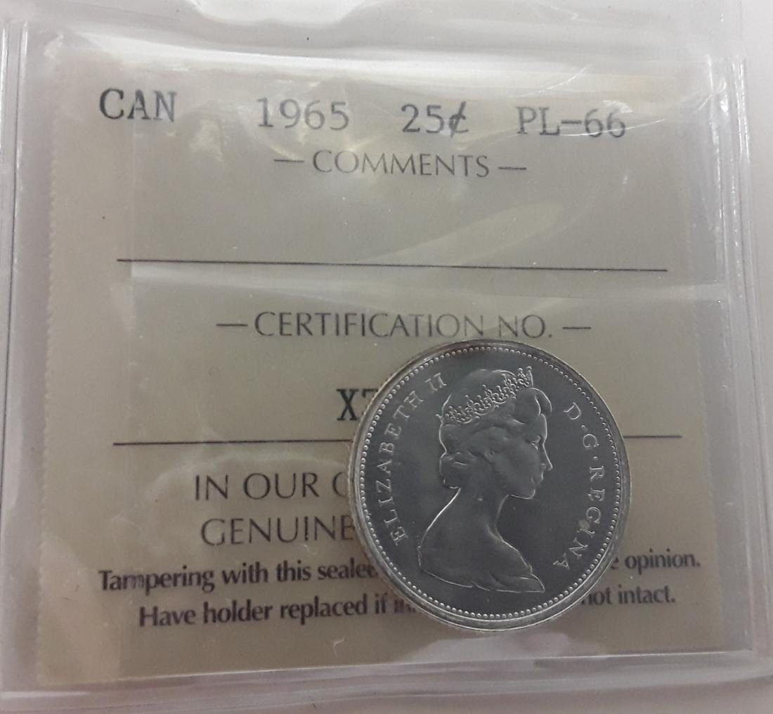 Canadian Prooflike Coin Collection - 5
