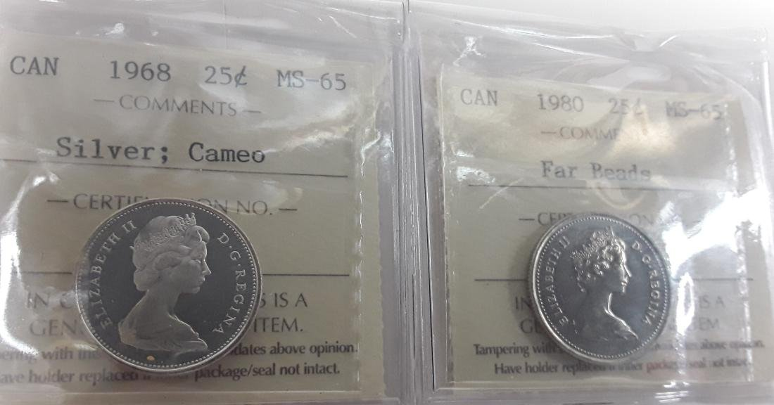 Canadian 25 Cent Coin Collection (quarter)