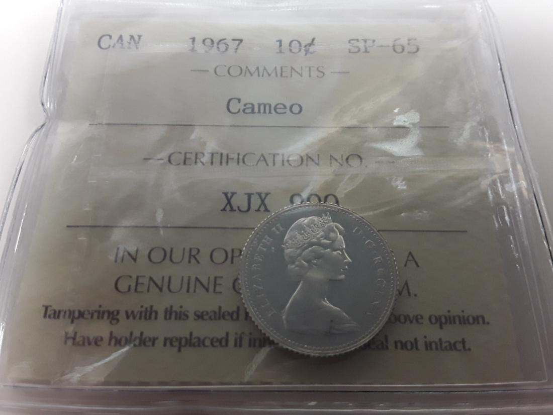 Canadian 1967 Specimen Coin Set - 4