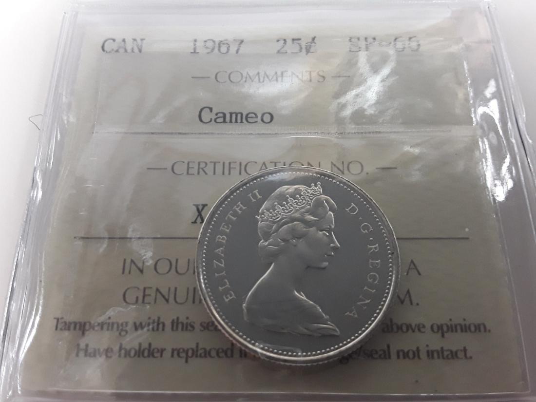 Canadian 1967 Specimen Coin Set - 5