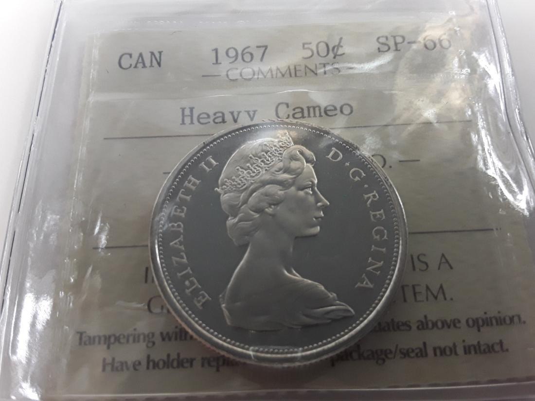 Canadian 1967 Specimen Coin Set - 6