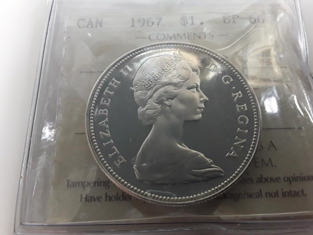 Canadian 1967 Specimen Coin Set - 7