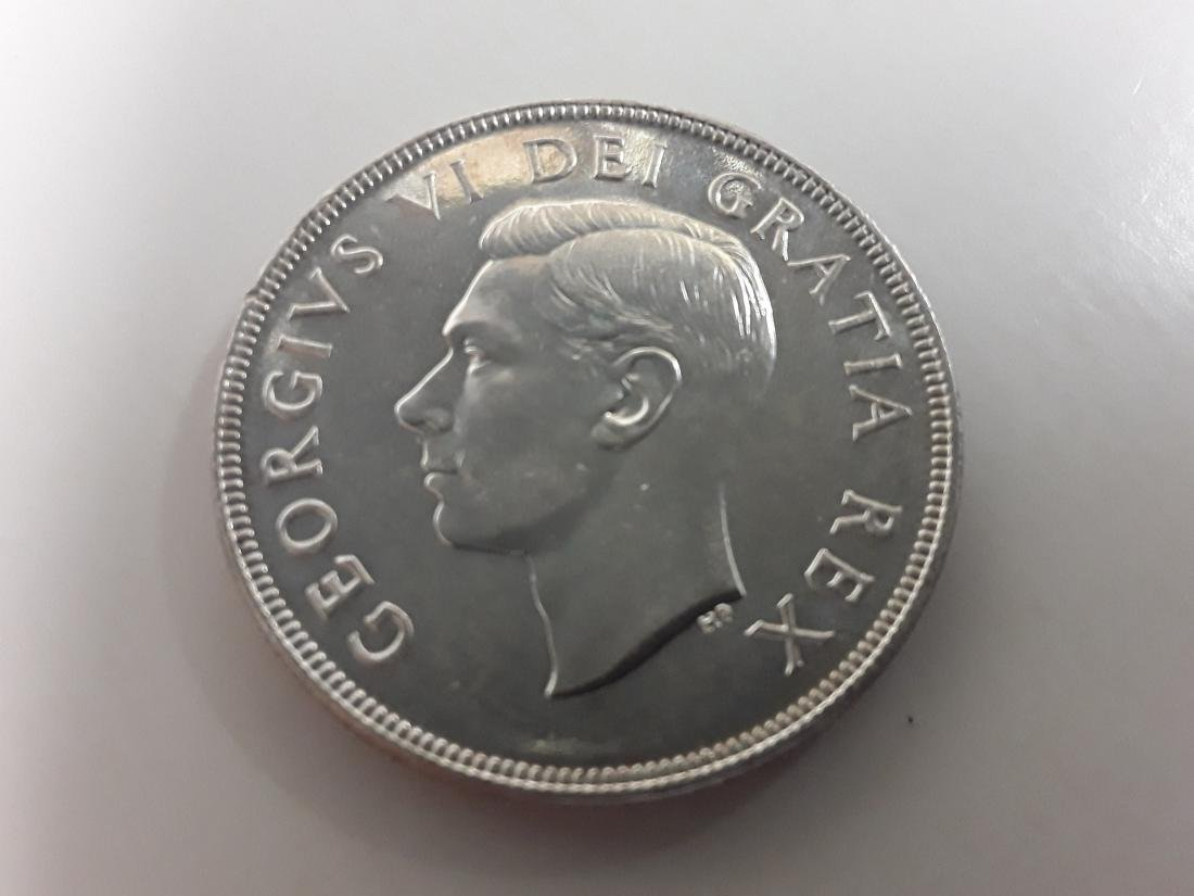Canadian Silver Dollar Collection - 10