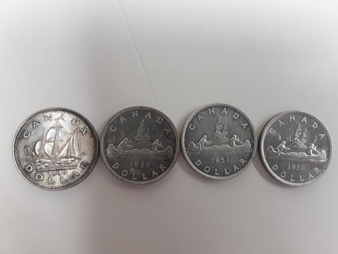 Canadian Silver Dollar Collection