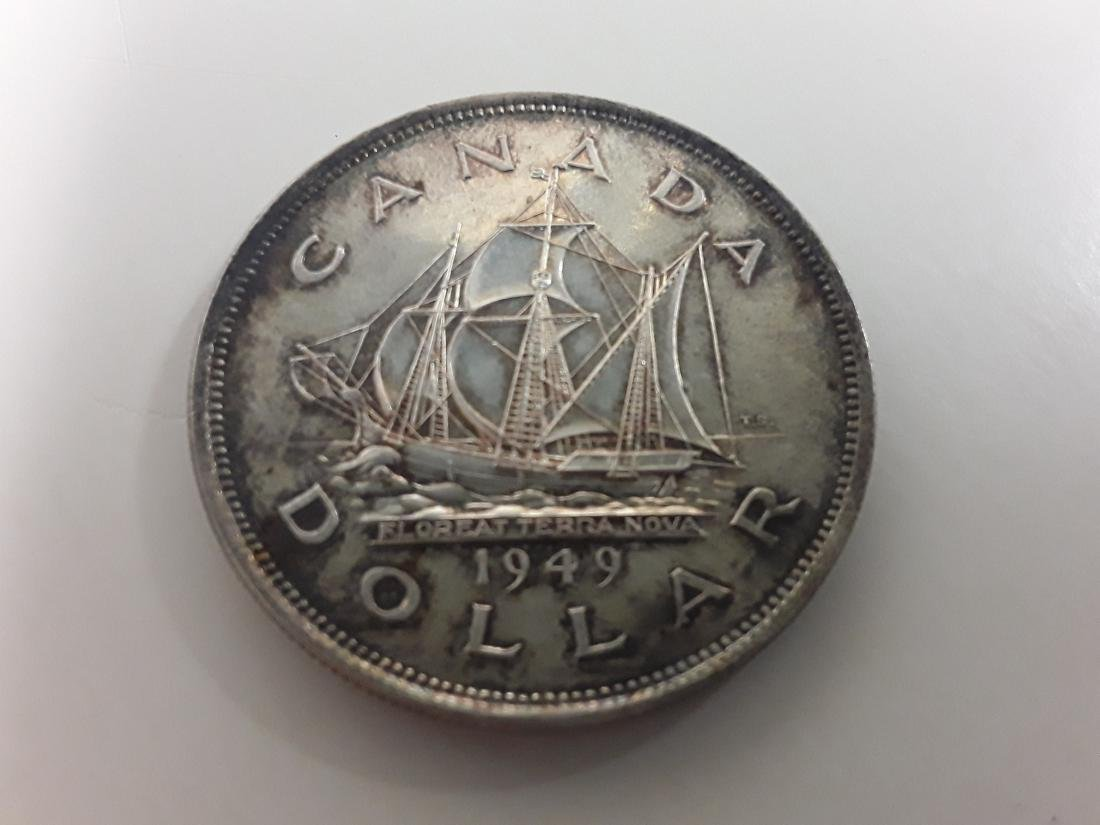 Canadian Silver Dollar Collection - 3