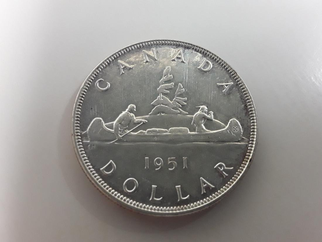 Canadian Silver Dollar Collection - 7