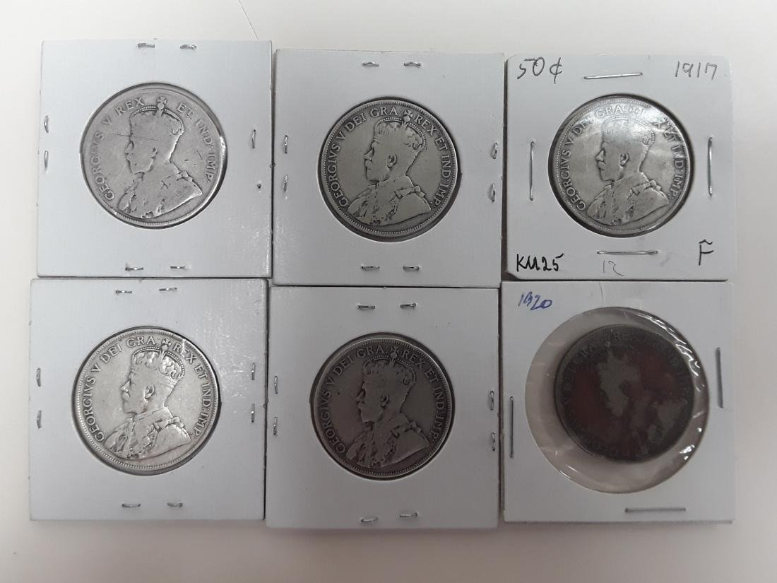 Canadian 50 Cent Collection - 2