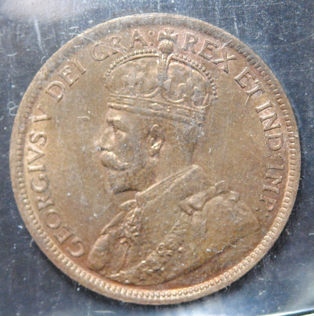 Canada 1916 One Cent ICCS MS64 Red & Brown - 2