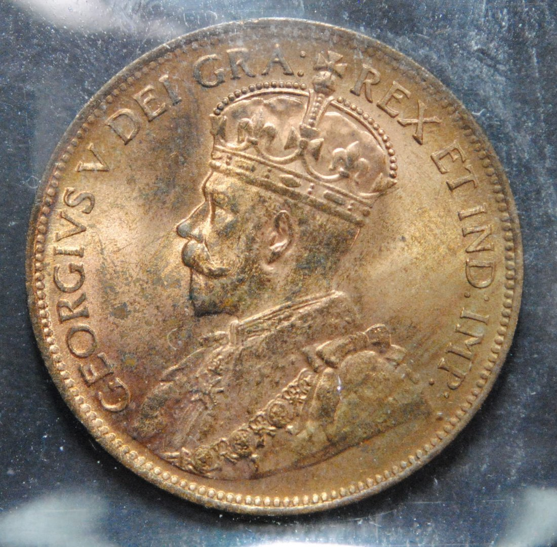 Canada 1915 One Cent ICCS MS65 Red - 2