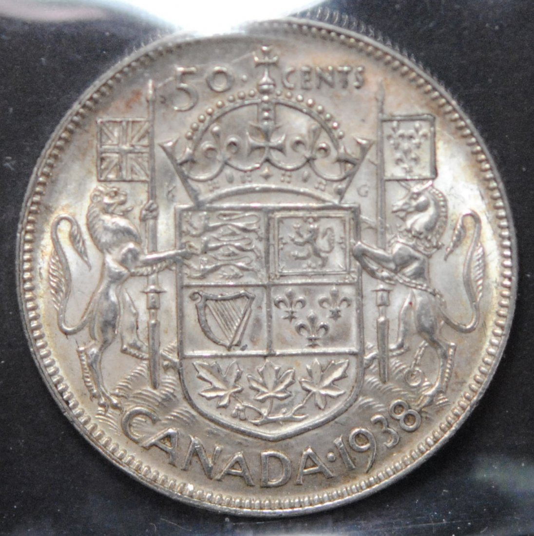 Canada 1938 Fifty Cent ICCS EF45 - 3