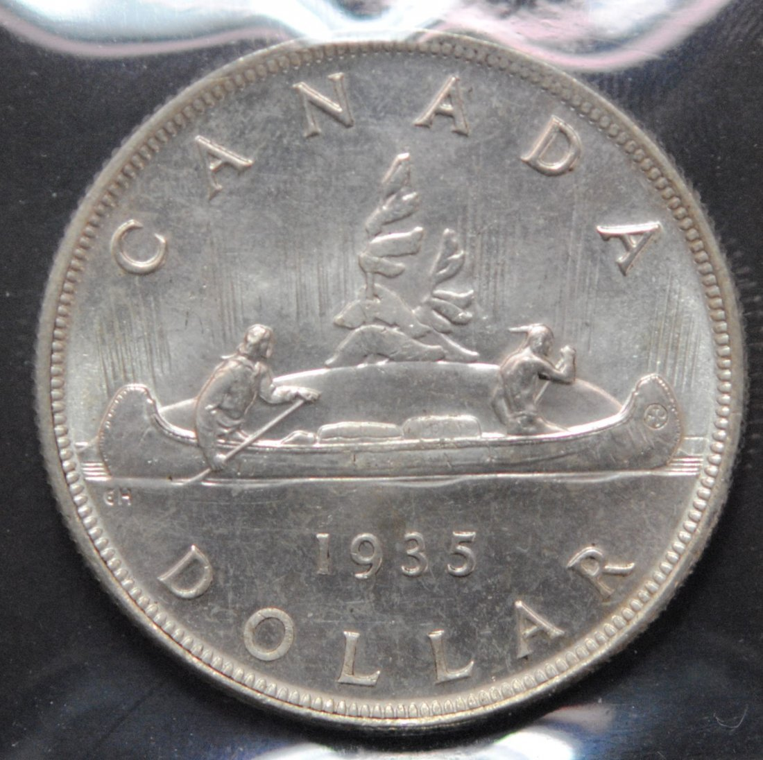 Canada 1935 Dollar ICCS MS64 - 3