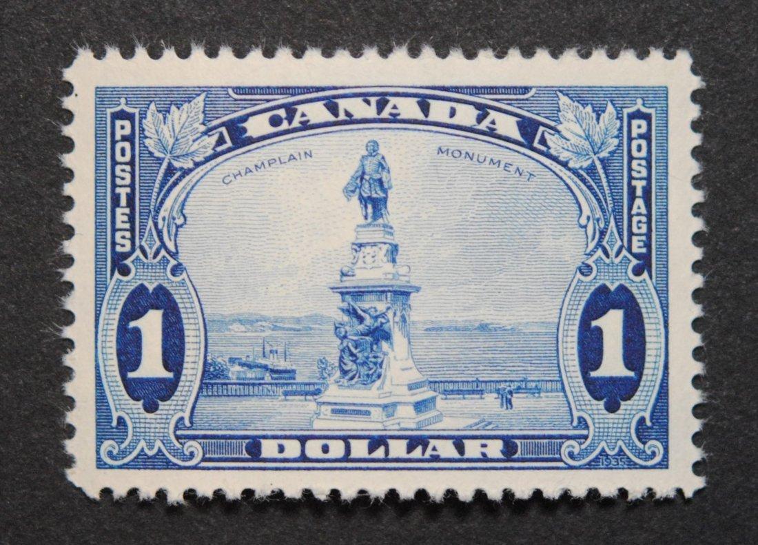 Canada $1 S/C #227 VF/XF MNH