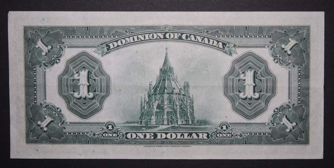 Canada 1923 George V Bank Note VF/EF - 2