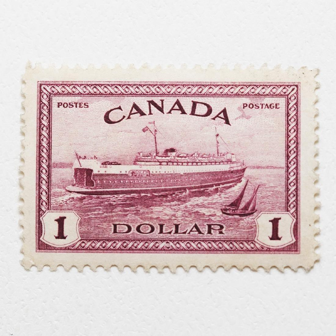 Canada $1 S/c #273 XF Superb MNH