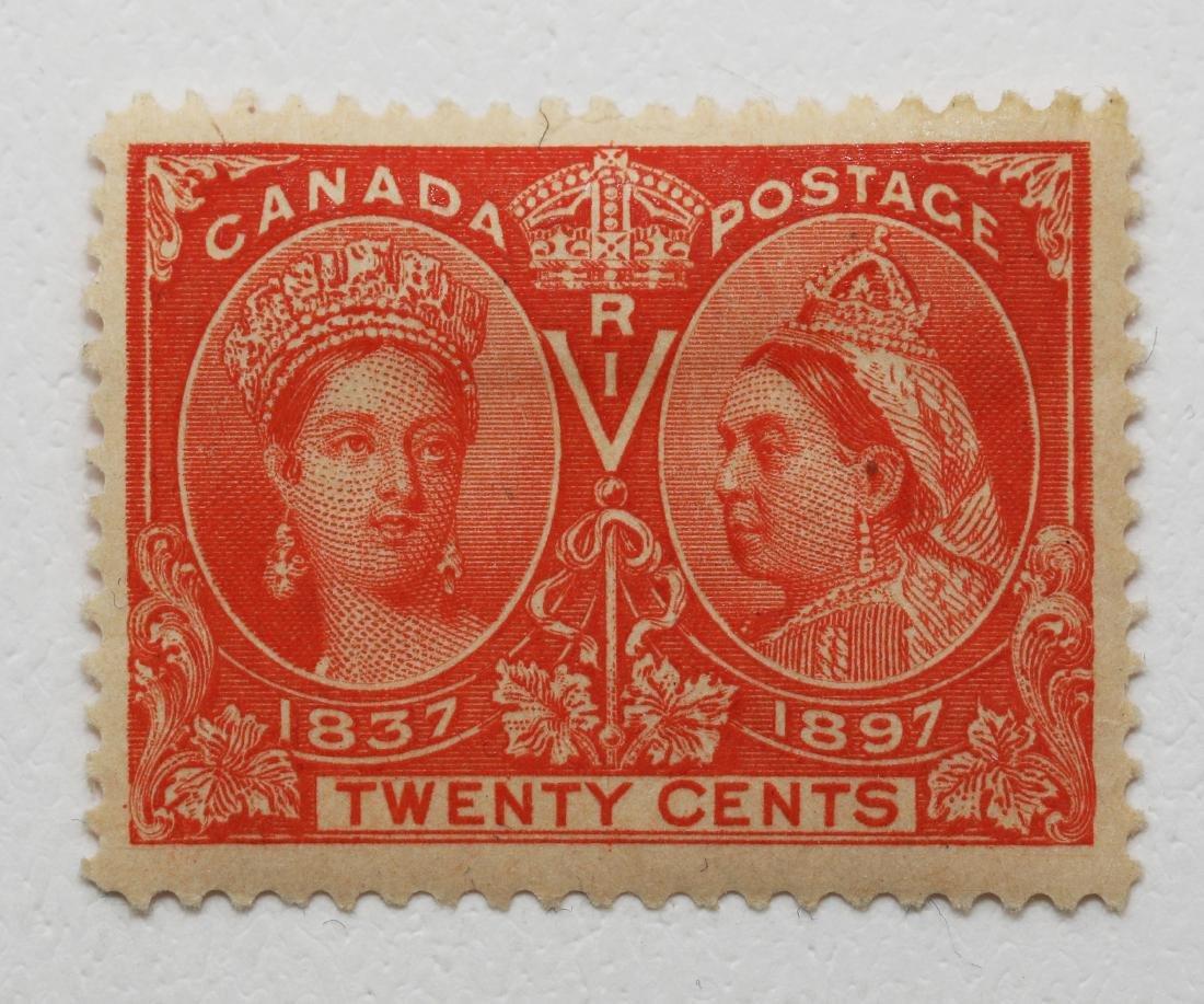 Canada 20c Jubilee F/VF MNH