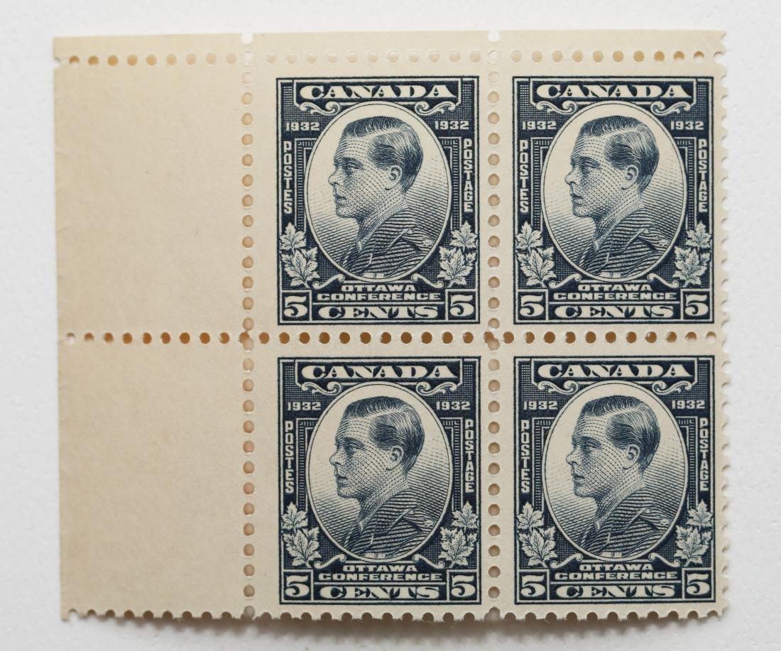Canada 1932 5c Block of 4 S/C #193 VF MNH